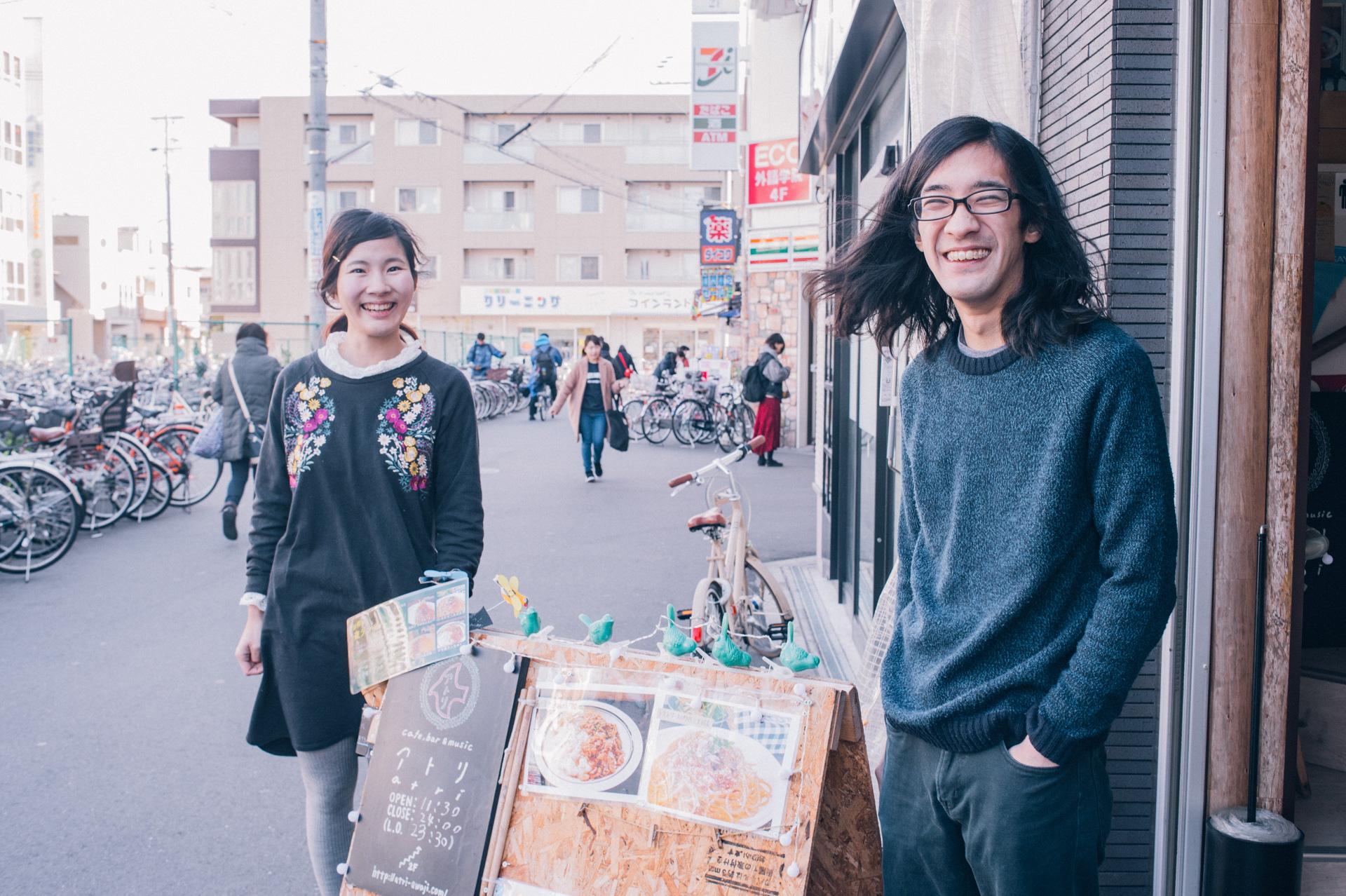 cafe,bar & music アトリ